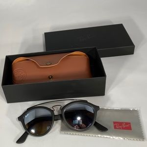b1e3820c97a65 Ray-Ban Accessories - BNIB Ray-Ban Phantos Gatsby II Round Sunglasses